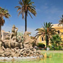 Piazza Vittorio Emanuele/Fontana del Tritone